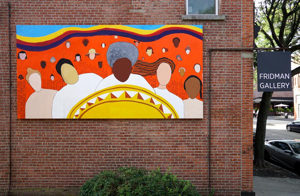 Dindga McCannon's mural