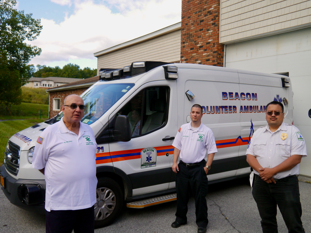 Beacon volunteer ambulance
